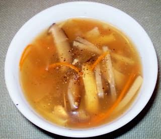 mon chay : Soup chua Trung Hoa .