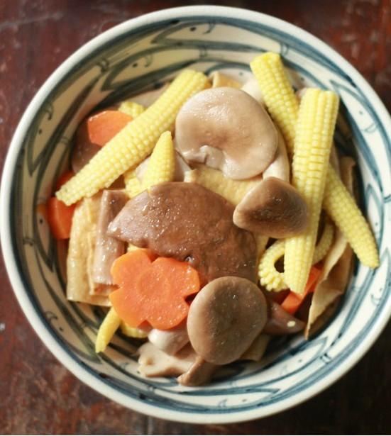 nam xao rau cu 10 Món chay ngon nấm xào rau củ bổ dưỡng