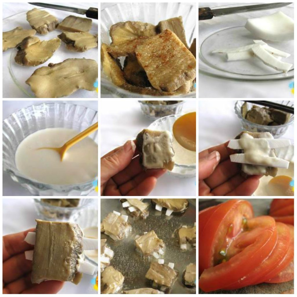 suonchay10 1024x1024 Món chay ngon sườn xào chua ngọt từ măng khô đơn giản