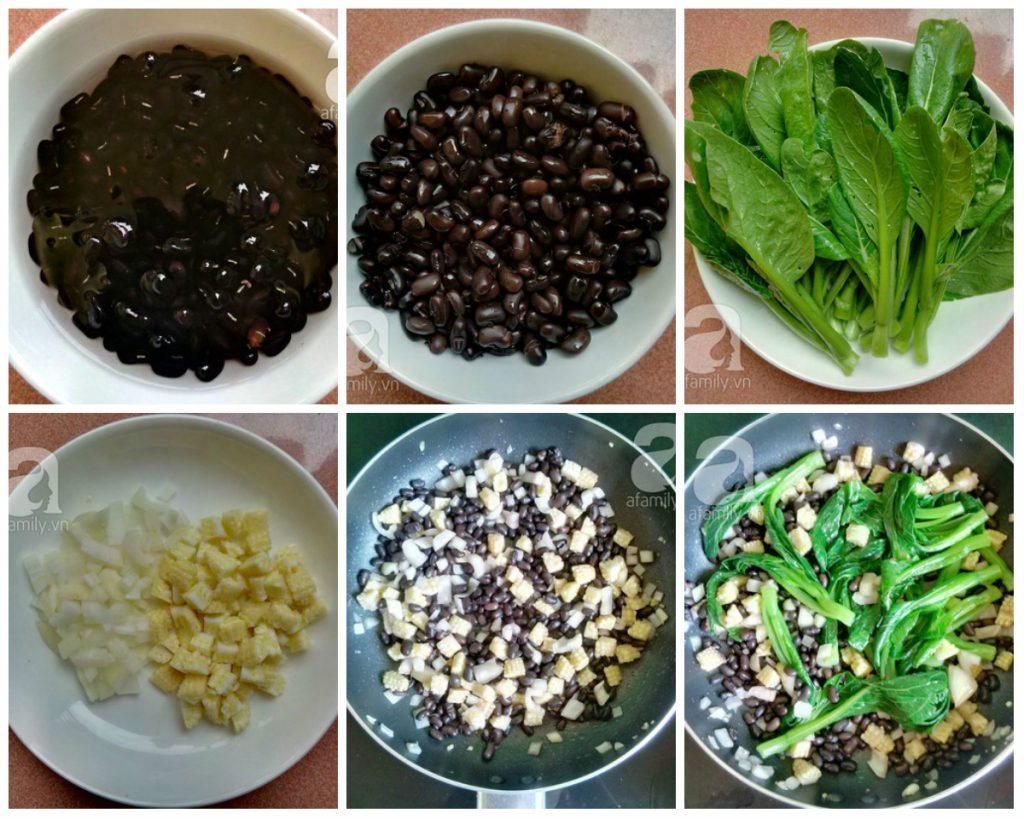 cai ngong xao dau den 01 1024x819 Cùng ăn chay ngon với món cải ngồng xào đậu đen