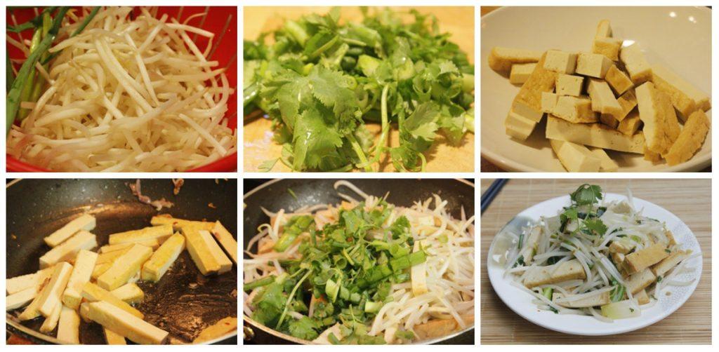 gia xao dau phu 7 1024x502 Món chay giá xào đậu phụ đơn giản mà ngon và bổ dưỡng nữa