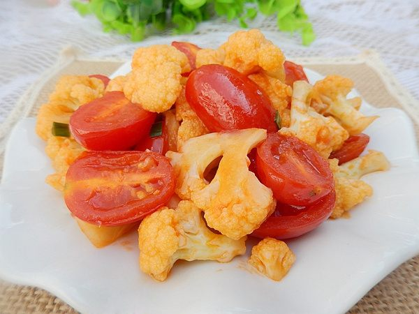 sup lo xao ca chua Cách làm súp lơ xào cà chua cho người ăn chay đơn giản