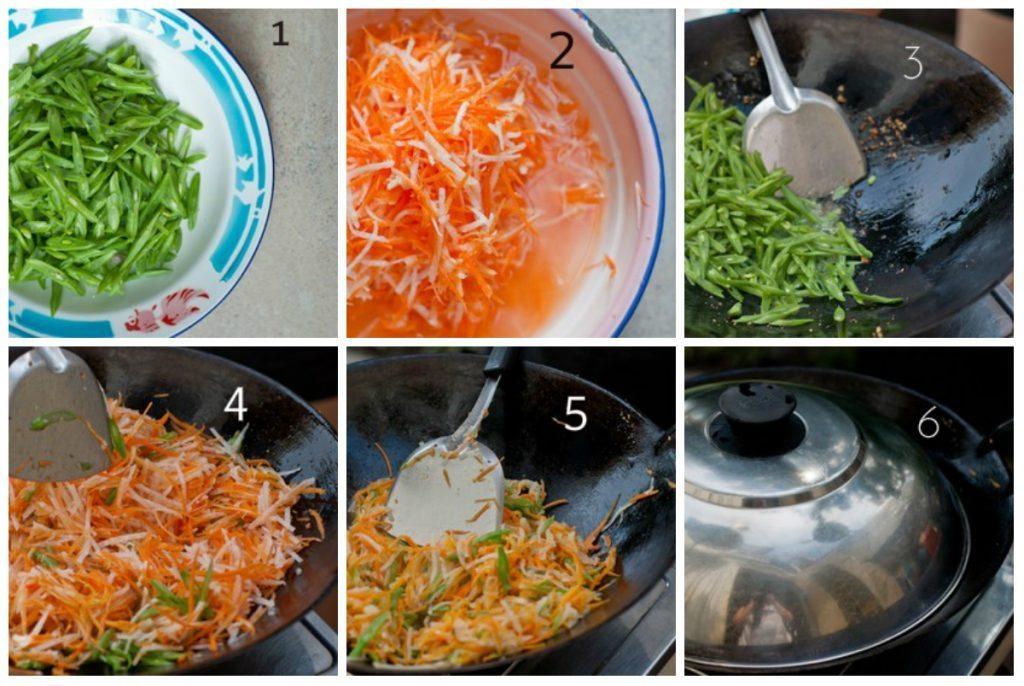rau cu xao chay 0 1024x686 Rau củ xào ăn chay giản dị cho ngày đầu tháng đầy đủ chất
