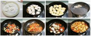 cuon n roll cach lam dau phu cay xot nam 300x120 Biến tấu các món chay từ nấm vô cùng ngon miệng