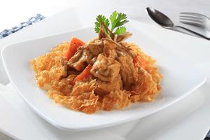 dau hu chien 2 300x200 Món chay thay đổi khẩu vị giữa tuần đầy dinh dưỡng