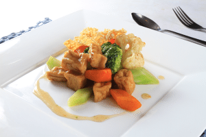 rau cu thap cam 300x200 Món chay thay đổi khẩu vị giữa tuần đầy dinh dưỡng