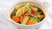 Ăn chay ngon cơm với rau củ kho thanh đạm